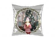 Dekorační polštář soft, polyester, Najkrajšie sviatky, 38x38 cm
