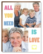 Fotopanel, All you need is love, 13x18 cm