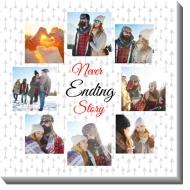 Obrazy, Never ending story, 30x30 cm