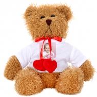 Maskot Hnedý medvedík so srdiečkami, Váš projekt hnedý medveď