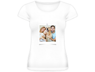 Tričko dámska, Fotografia na tričku