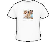 Tričko pánska, Fotografia na tričku