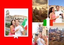 Fotokniha Talianske dovolenkové dobrodružstvo, 20x30 cm
