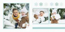 Fotokniha Naše zimné chvíle, 30x30 cm