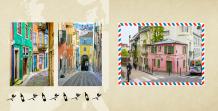Fotokniha Naša cesta po Európe, 20x20 cm