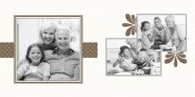 Fotokniha Z rodinného albumu, 25x25 cm
