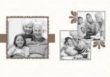 Fotokniha Z rodinného albumu, 20x30 cm