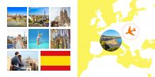 Fotokniha Španielske dovolenkové dobrodružstvo, 20x20 cm