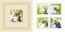 Fotokniha Vysnívaná svadba, 30x30 cm