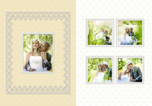 Fotokniha Vysnívaná svadba, 20x30 cm