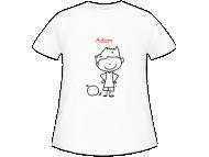 Tričko detská, Žiacke tričko