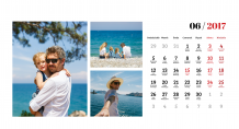 Kalendár, Zadrž spomienky, 22x10 cm