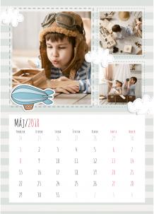 Kalendár, Detské dobrodružstvá, 30x40 cm