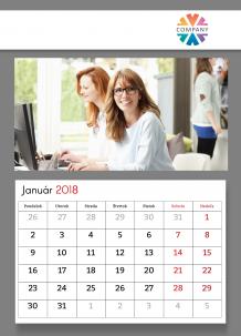 Kalendár, Firemný kalendár, 20x30 cm