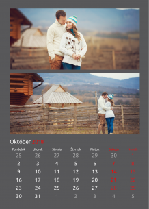 Kalendár, Klasická elegancia, 30x40 cm