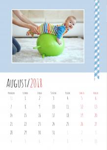 Kalendár, Batoľací kalendár, 30x40 cm