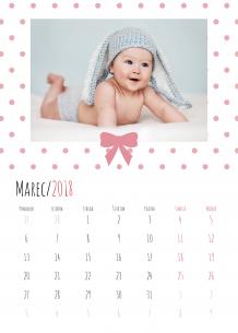 Kalendár, Naši najdrahši, 30x40 cm