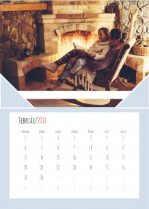 Kalendár, Spolustravene chvile, 30x40 cm