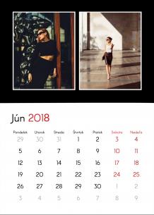 Kalendár, Tvoj kontrastný projekt, 20x30 cm