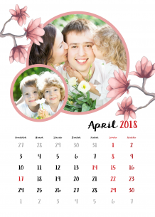 Kalendár, Jar po celý rok, 30x40 cm