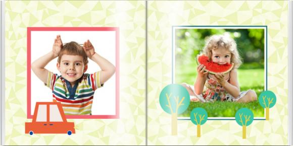 Fotokniha Sladké chvíle predškoláka, 30x30 cm