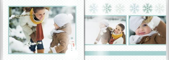 Fotokniha Naše zimné chvíle, 30x20 cm