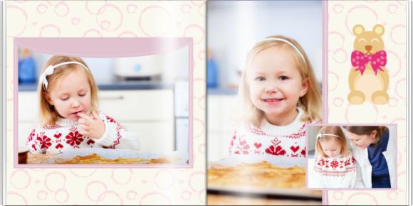 Fotokniha Malá princezná, 30x30 cm