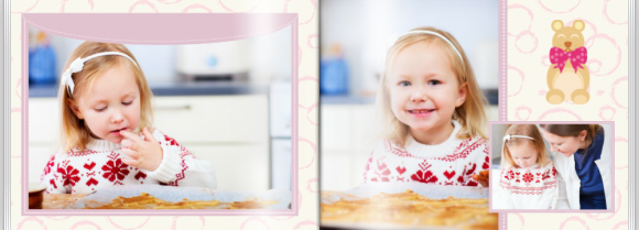 Fotokniha Malá princezná, 30x20 cm