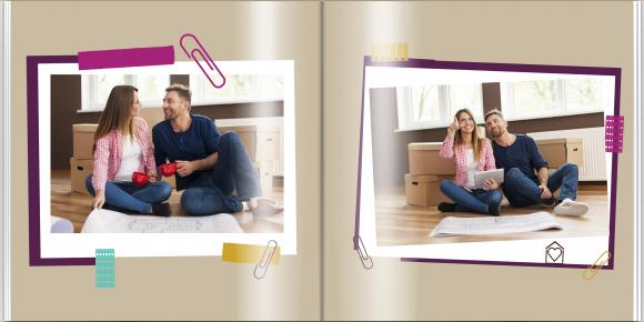Fotokniha Doma je najlepšie, 30x30 cm