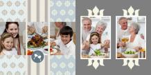 Fotokniha Rodinné stretnutia, 30x30 cm