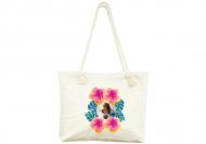 Plážová taška, 45x40, Dovolenka v trópoch