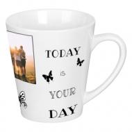 Hrnček latte, Motivačný