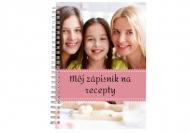 Zošit Môj zápisník na recepty, 15x21 cm