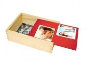 Drevená krabička, Zamilovaní , 12x17 cm