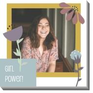Obrazy, Girl power, 30x30 cm