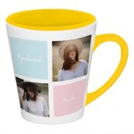 Hrnček latte, Insta kolory