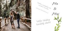 Fotokniha Svadobná kniha hostí, 30x30 cm