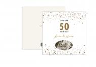 Fotopriania Z príležitosti 50. výročia sobáša, 14x14 cm