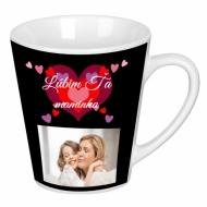Hrnček latte, Mami, ľúbime Ťa!
