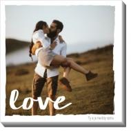Obrazy, Jednoducho láska, 30x30 cm