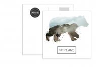 Fotopriania Pohľadnica - Spomienka na Tatry, 14x14 cm
