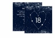 Fotopriania Kozmická osemnástka , 14x14 cm