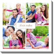 Obrazy, Moja rodinka, 30x30 cm