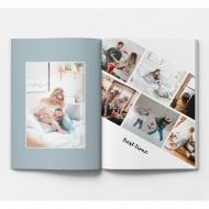 Mäkká fotokniha Rodinná, 20x30 cm