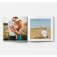 Mäkká fotokniha Váš projekt, 20x20 cm