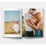 Mäkká fotokniha Váš projekt, 20x30 cm