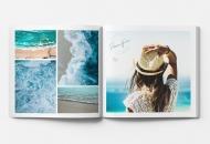 Mäkká fotokniha Oceán, 20x20 cm