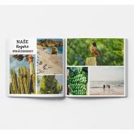 Mäkká fotokniha Váš prázdninový projekt , 20x20 cm