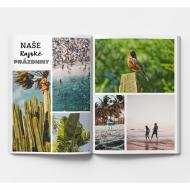 Mäkká fotokniha Váš prázdninový projekt , 20x30 cm