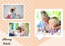 Fotokniha Pre milovanú babičku, 20x30 cm